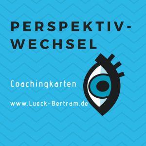 Coachingkarten Lück-Bertram Sticker Vorderseite