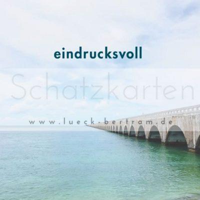 Set 2 Schatzkarten | eindrucksvoll | lueck-bertram.de