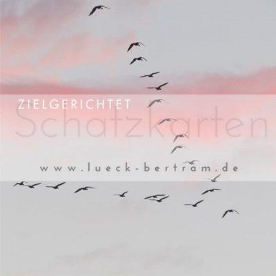 Set 2 Schatzkarten | zielgerichtet | lueck-bertram.de